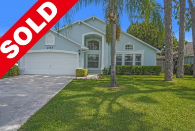 Sold Home with Banner
